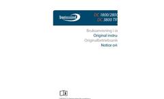 Model DC 3800 TR S EX - Dust Extractors Brochure