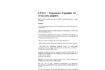 EWL15 Exposmeter Lipophilic for Water 15 cm – Brochure