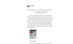 ExposMeter - Model ESM-P - Phosphorus Sediment Sampler Brochure