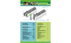 Big Hanna - Model T120 - Food Waste Composter - Brochure