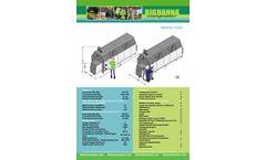 Big Hanna - Model T240 - Food Waste Composter - Brochure