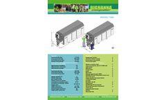 Big Hanna - Model T480 - Food Waste Composter - Brochure