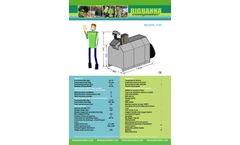 Big Hanna - Model T40 - Food Waste Composter- Brochure