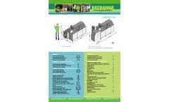 Big Hanna - Model T60 - Food Waste Composter - Brochure