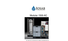 Modular 1500-AC - Robust Ecological Water Treatment Plant - Brochure