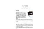 Spectrex - Model UV-100 - Ozone Analyzer – Manual
