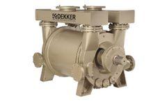 Maxima-K - Model DV2001K-K - Large Capacity Single Stage Liquid Ring Vacuum Pumps