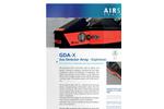 AIRSENSE - Model GDA-X - Explosives Gas Detector Array - Brochure