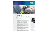 AIRSENSE - Model GDA-FR - Portable Gas Detector Array - First Response - Brochure
