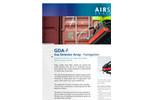 AIRSENSE - Model GDA-F - Gas Detector Array - Fumigation - Brochure