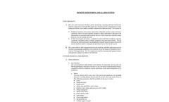 Remote Monitoring and Alarm System - Functionality Datasheet