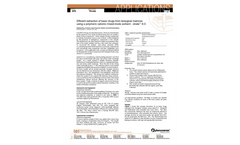 Applications Notes - Extraction of Basic Compounds