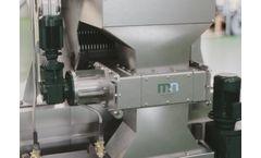 Mellegard & Naij - Model RK - Grinder for Solids in Water, Sludge & Waste