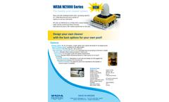 WEDA W2000 Series - The Flexible Pool Cleaner System - Brochure