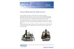 Weda - Model VR-50 - Efficient Underwater Cleaner for Smaller Reservoirs - Brochure