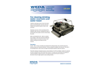 Weda - Model VR600 - Water Reservoirs and Water Towers Cleaning System - Brochure