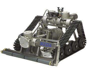 Weda - Model YT-800 - Sand Filter and Large Water Basin Cleaning Submersible Robots