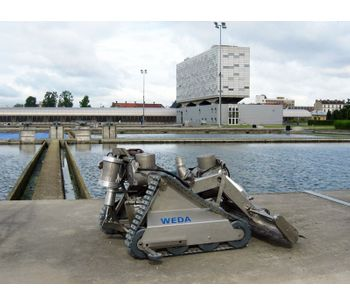 Sand Filter and Large Water Basin Cleaning Submersible Robots-1