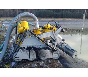 Sand Filter and Large Water Basin Cleaning Submersible Robots-2