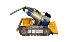 Weda - Model YT-600 - Underwater Cleaning Robot for Sediment (Sludge) Removal