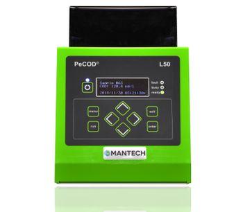 Mantech PeCOD - Model Benchtop L50 - Chemical Oxygen Demand (COD) Analyzer