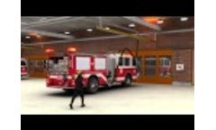Vehicle Exhaust System in a Fire Station Using The Pneumatic Grabber – Video