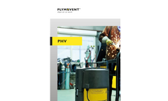 PHV: Portable filter unit removes welding fumes at the source (Brochure)