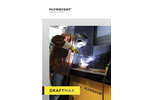 DraftMax Eco Downdraft and Backdraft Work Bench Suited for Ductwork Brochure