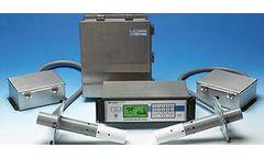 Model UltraFlow 150 - Ultrasonic Gas Flow & Temperature Monitor