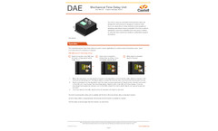 Castell - Model DAE - Mechanical Time Delay Unit Brochure