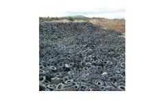 Industrial shredders for tyre industry