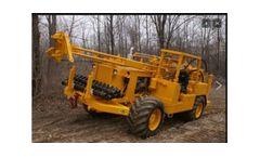 Central Mine - Model CME-550X - Rubber Tire ATV Mounted Drill