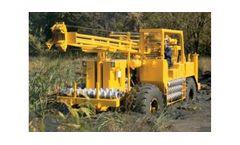 Central Mine - Model CME-750X - Rubber Tire ATV Mounted Drill