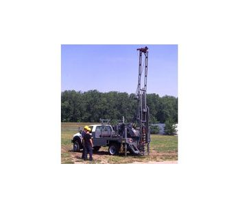 Central Mine - Model CME-45B - Truck Mounted Auger Drill