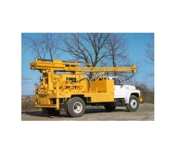 Central Mine - Model CME-55 - Truck Mounted Auger Drill