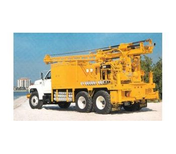 Central Mine - Model CME-75 - Truck Mounted Auger Drill