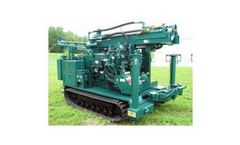 Central Mine - Model CME-55LC - Track Carrier Auger Drill