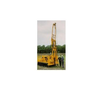 Central Mine - Model CME-55 - Track Carrier Auger Drill