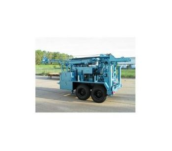 Model CME-55 - Trailer Mounted Drills