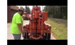 Acker PT-22 - Pavement Test Core Drill Video