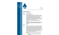 Agenda - Brochure