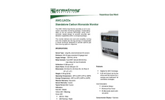 AMC 1ACOs Series Standalone Carbon Monoxide Monitor - Specification Brochure