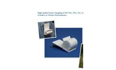 Ogawa - Ambient Air Passive Sampler - Brochure