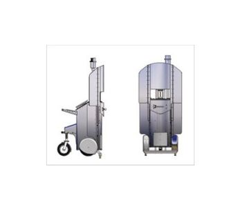 Process Metrix - Mobile Cart - Laser Contouring System