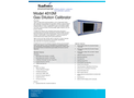 Sabio 4010M Gas Dilution Calibrator - Brochure