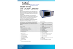 Sabio - Model 4010M - Gas Dilution Calibrator - Brochure