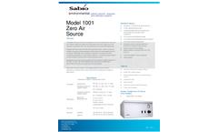 Sabio 1001 Zero Air Generators - Brochure