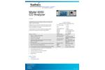 Sabio - Model 6050 - CO Analyzer - Brochure