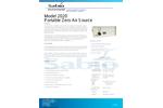 Sabio - Model 2020 - Portable Zero Air Source Generator - Brochure