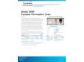 Sabio 2505 Portable Permeation Oven - Brochure
